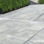 Etna lavastone tiles for driveway and parking area in hotel and resort